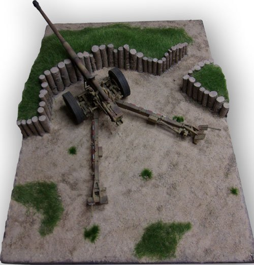 Pak 43/41Emplacement