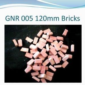 120mm Bricks (plaster)