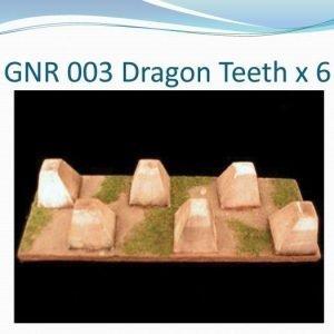 Dragon Teeth x 6
