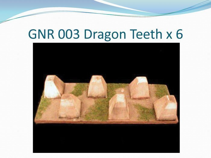 Dragon Teeth x 6