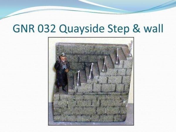 Quayside Step & Wall