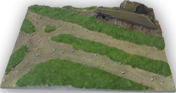 Sherman Tank Diorama