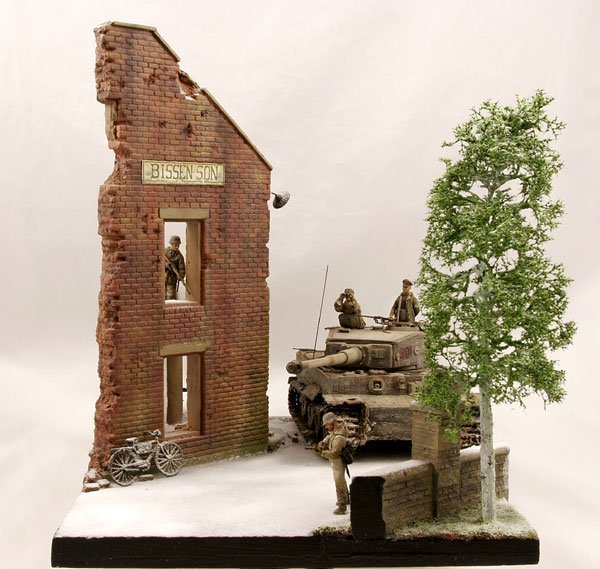 Warehouse Diorama