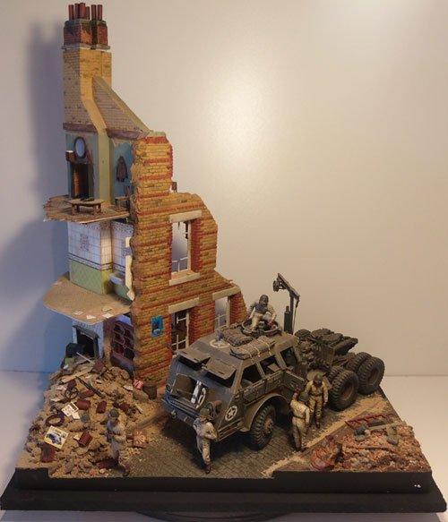 The City House Diorama