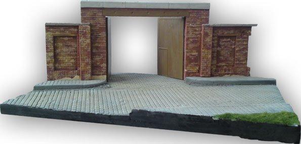 Entrance Diorama