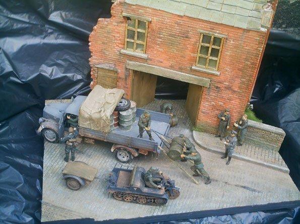 Workshop Diorama