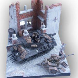 Town  House Diorama